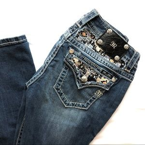 Women's Miss Me  Blue Jeans Size 28